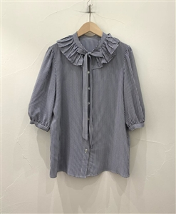 Silk Bow Blouse (will ship within 1~2 weeks)