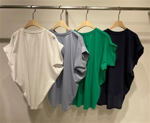 Chloe Blouse (Ivory/Sky/Green/Navy) (will ship within 1~2 weeks)
