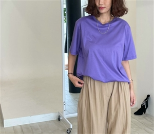 Violet Silky T (will ship within 1~2 weeks)