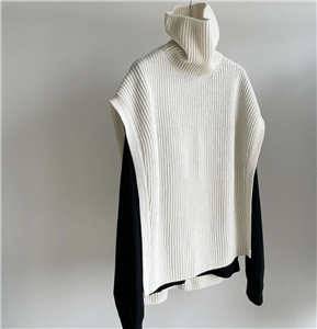 Ivory Open Knit Vest (will ship within 1~2 weeks)