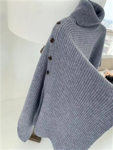 Gray Cape Knit (will ship within 1~2 weeks)