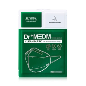 Dr+MEDM 3 Steps Mask 10ea (Black / White)