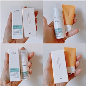 AIDA Cosmetic Trial Kits - Ampoule Barrier Cream 15ml + Gel Cleanser 25ml